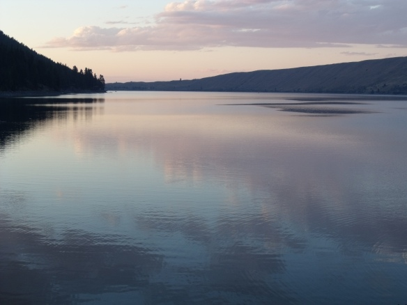 Wallowa Lake at Sunset