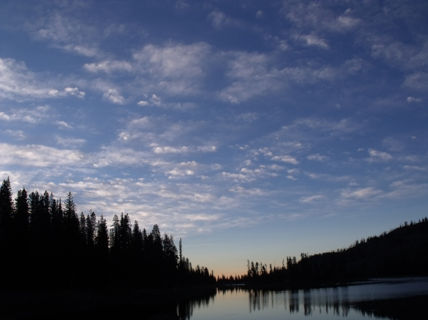 Dawn at Fish Lake