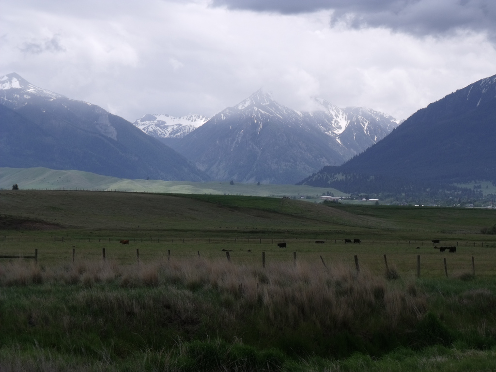 Spring Storm over the Wallowas