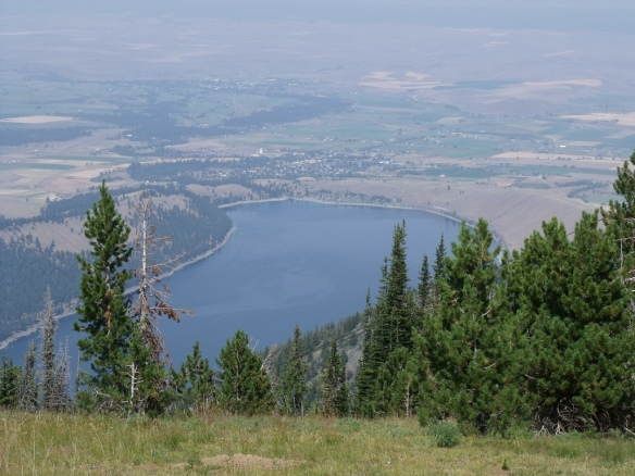 Wallowa Lake from Mt. Howard Tram