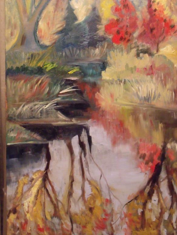 """""""Pioneer Pond"""", oil on canvas, 2015"""