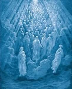 crowds of angels