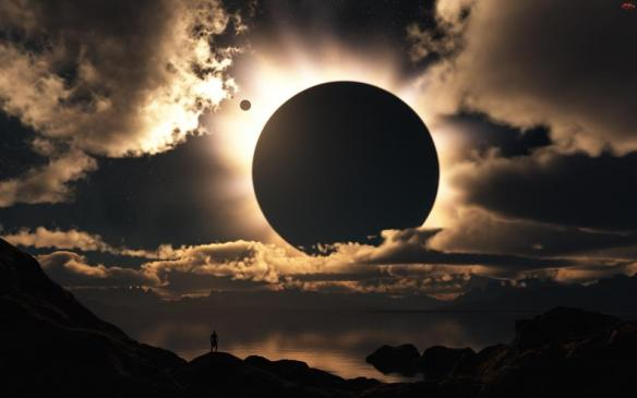 New Moon and Summer Solstice time