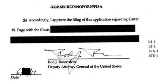 Rosenstein signature on FISA