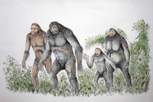 Harvey Pratt Bigfoot art 003