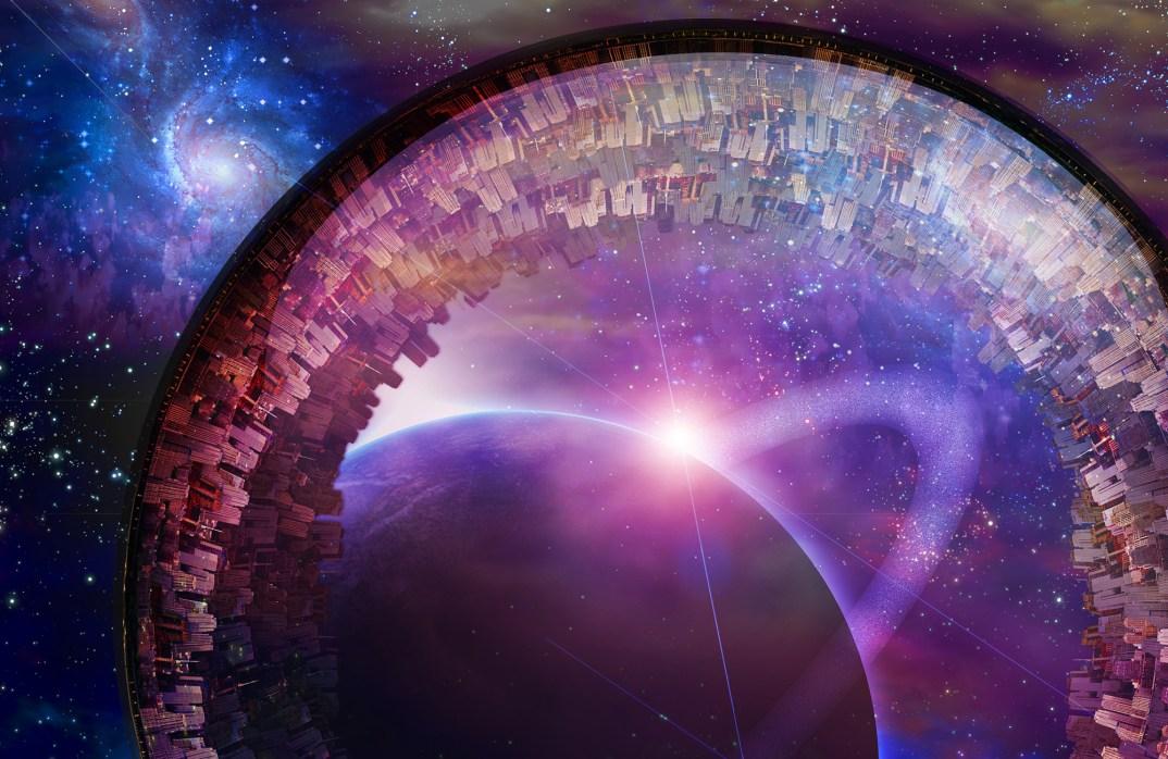 Multigenerational Interstellar City Ship