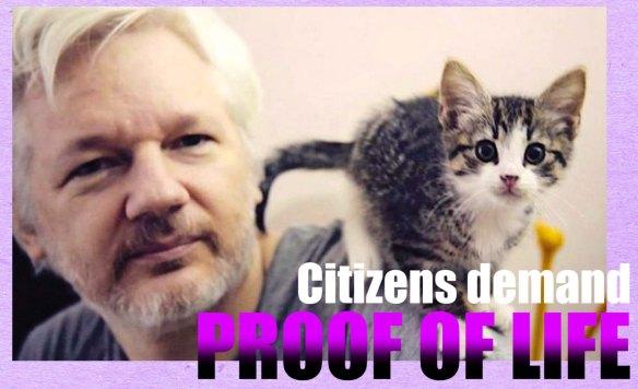 Assange proof of life 2