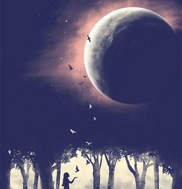 Pluto/Moon Conjunction: Exquisite Eclipse Reset! ~ July 16