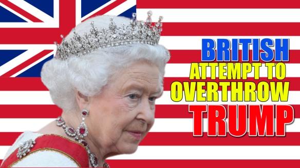 queen overthrow trump